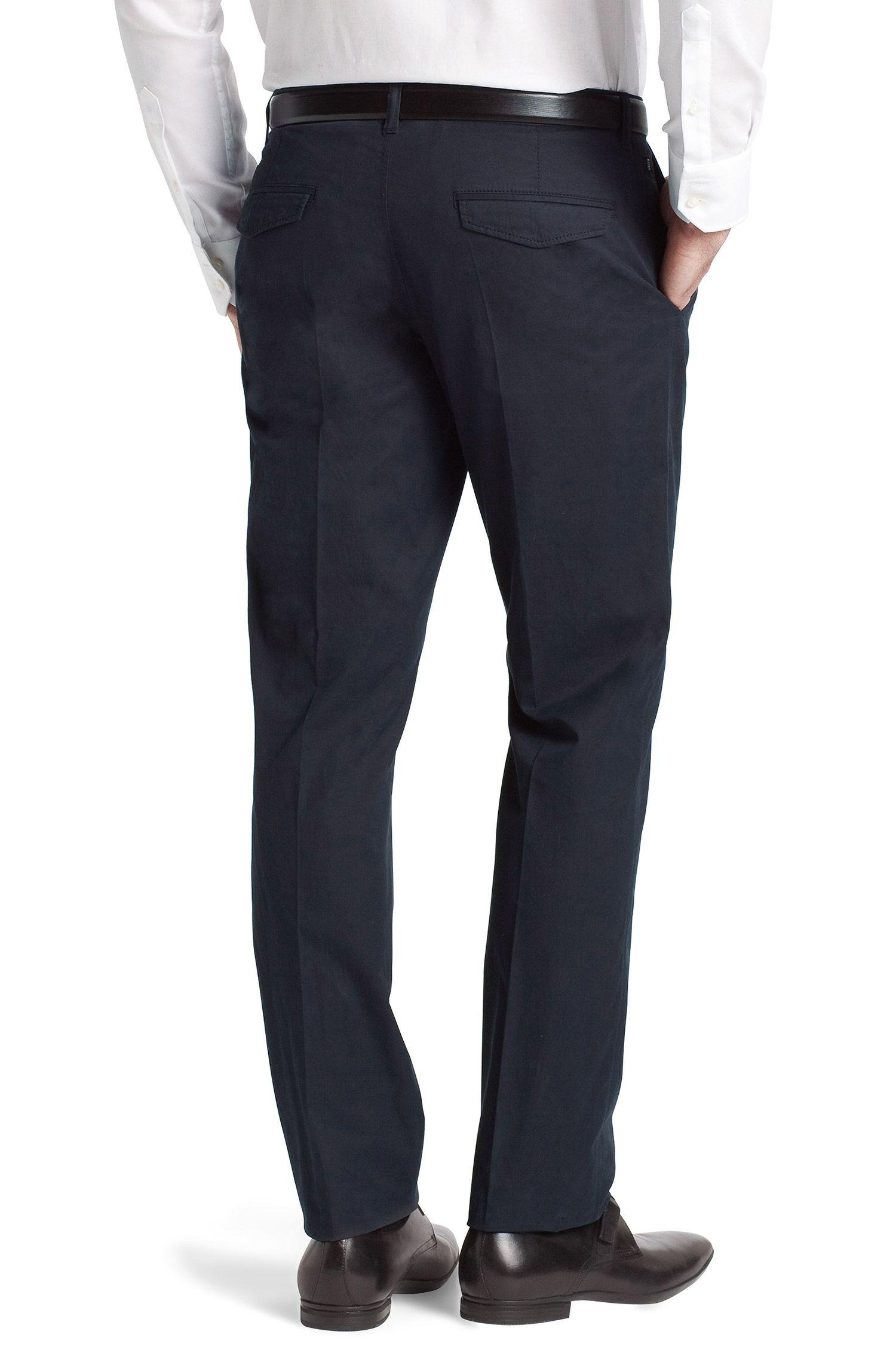 Pantalon de costume en coton fin, Shadow4-W