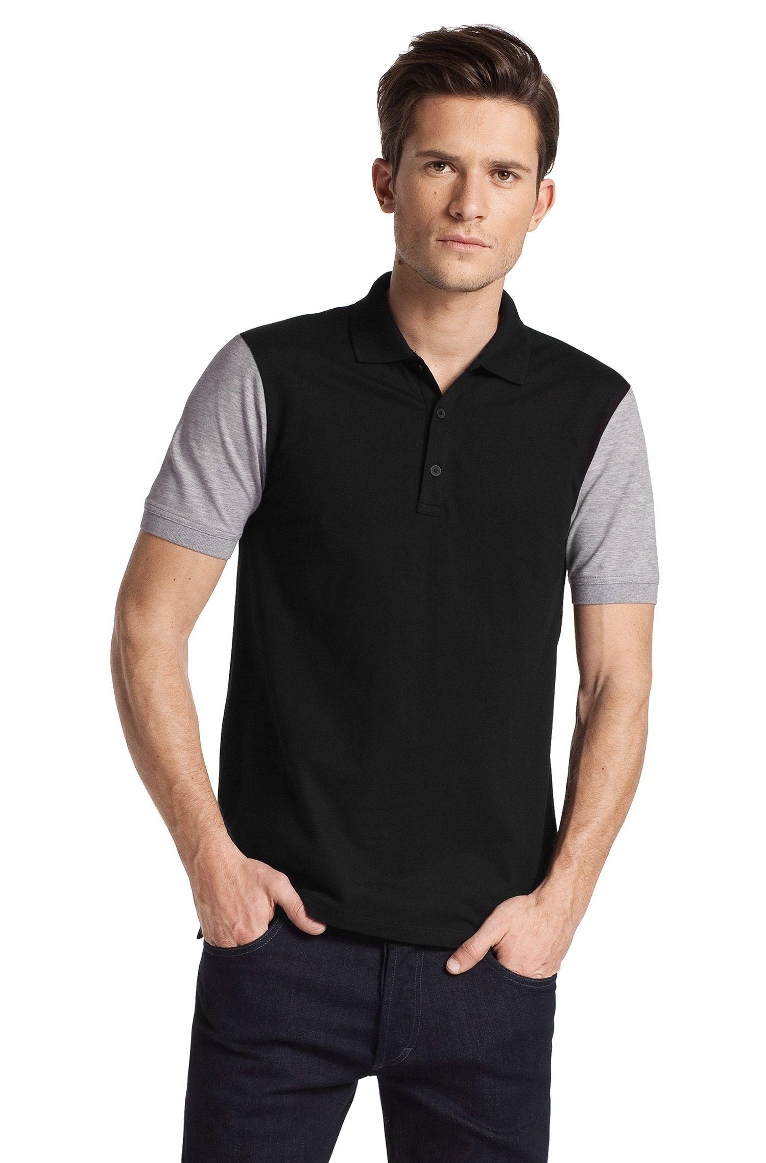 Modernes Poloshirt ´Ninos` aus Baumwoll-Mix