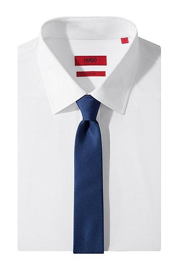 Krawatte ´Tie 6 cm` aus reiner Seide, Hellblau