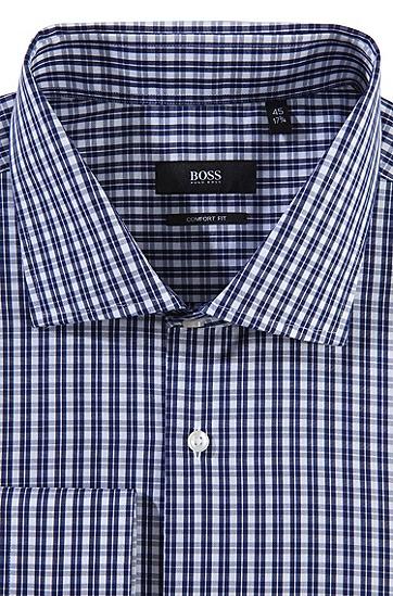 Business-Hemd ´Geraldone` mit Haifischkragen, Dunkelblau