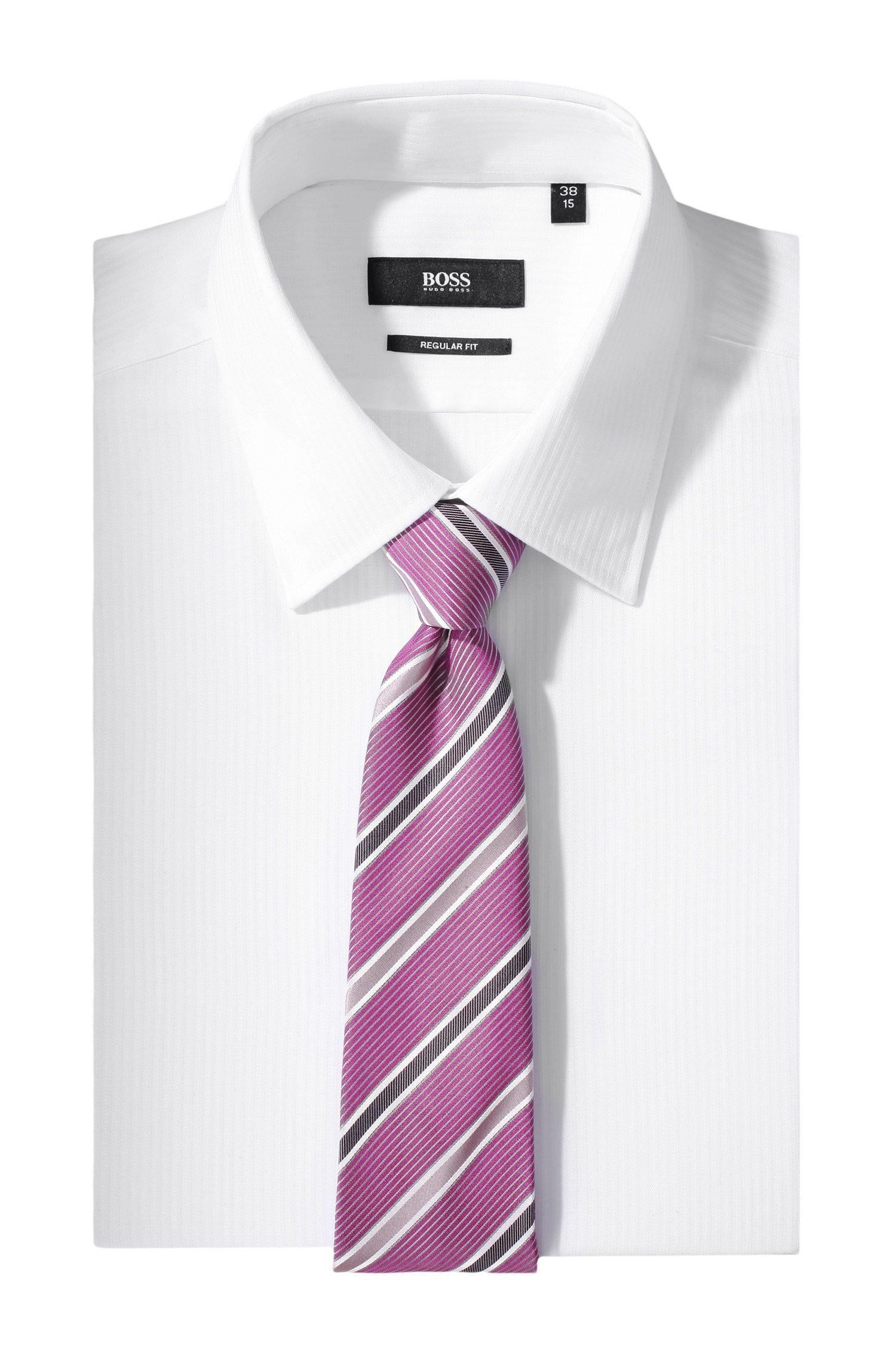 Cravate en soie, ligne Traveller, Tie 7,5 cm