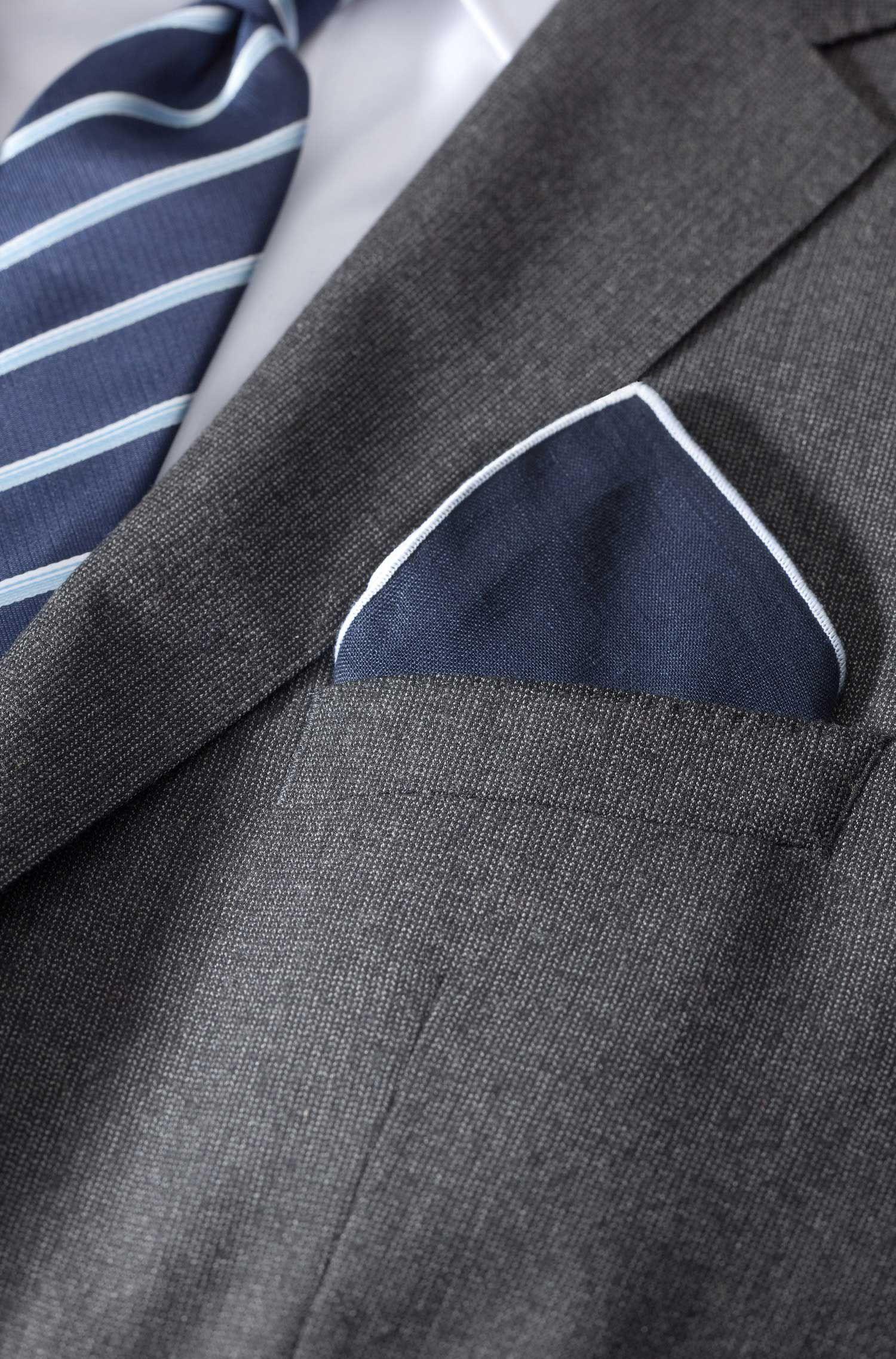 Pochette en lin, Pocket square 33x33