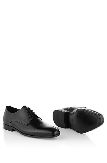系带皮鞋 'Colosons',  001_黑色