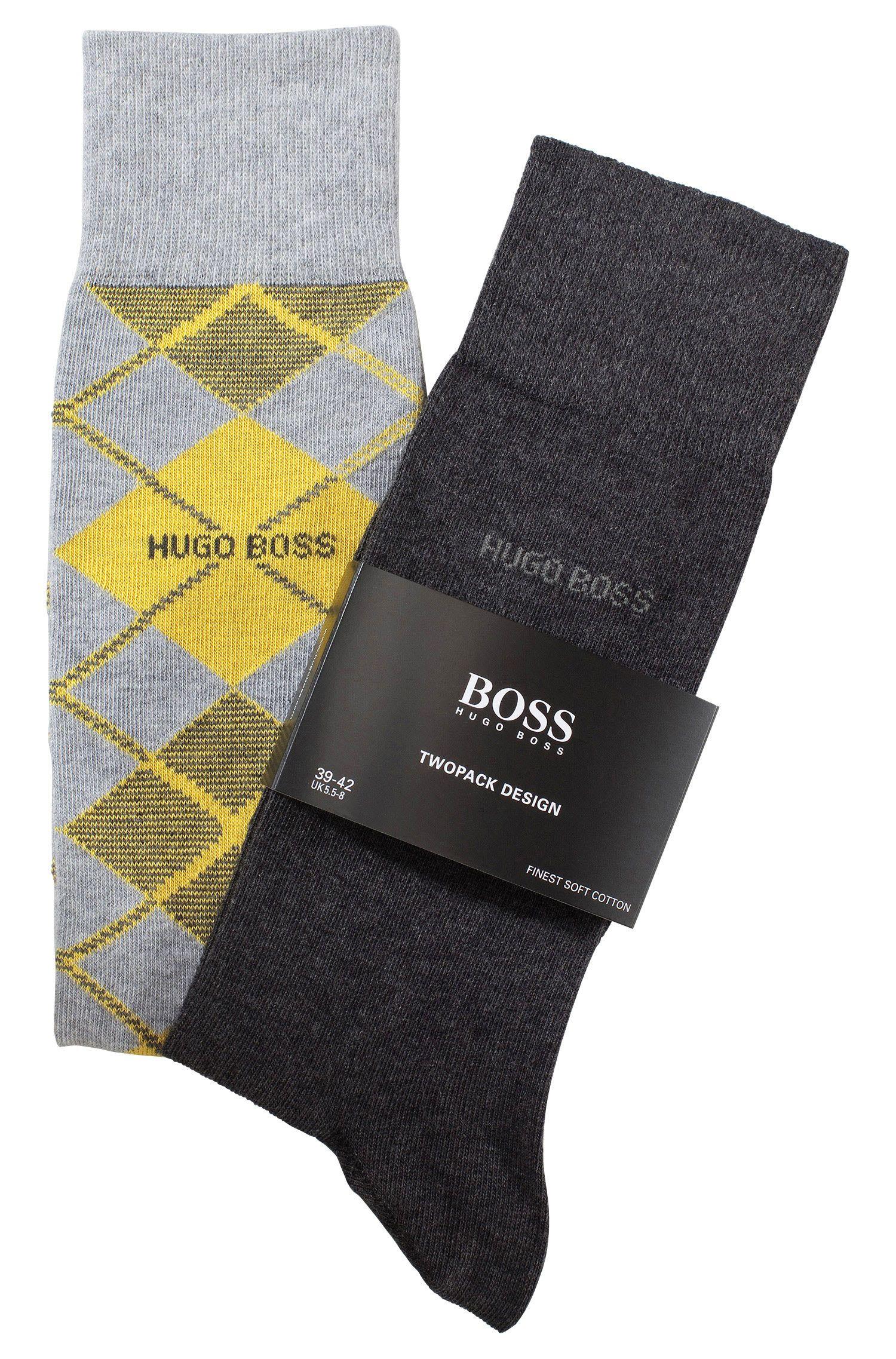 Sokken ´Twopack RS Design` van een katoenmix