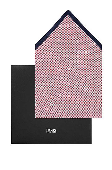 Pocket square ´Pocket square 33 x 33 cm`, Dark Red