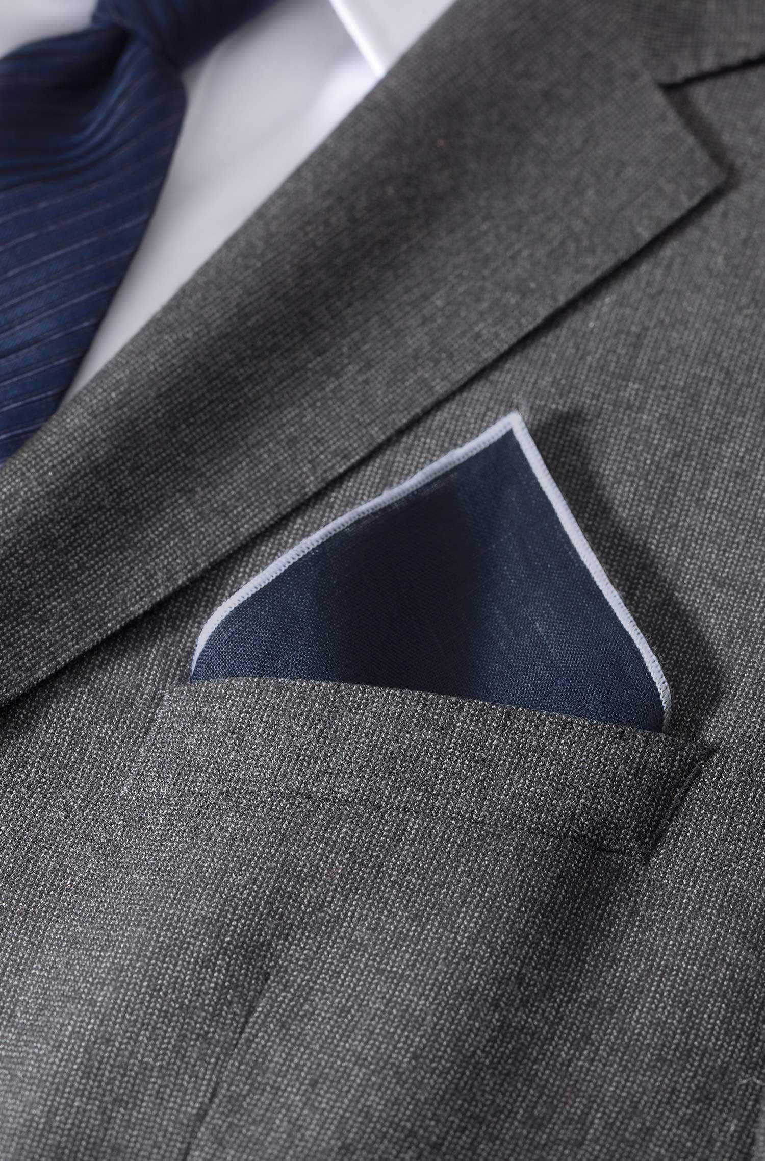 Pochet ´Pocket square 33 x 33` van linnen