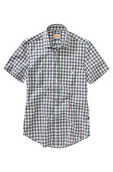 Freizeit-Hemd ´EgrifyE`, verstärkter Kentkragen, Lila