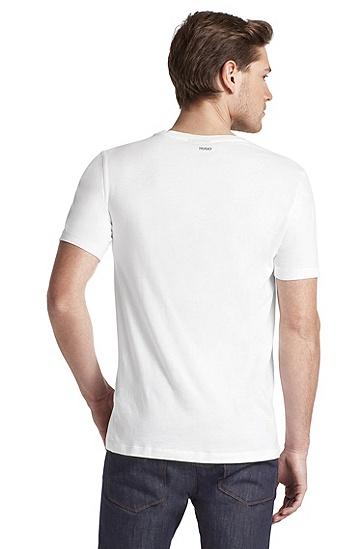 T-Shirt ´Dot` mit Rundhals-Ausschnitt, Weiß