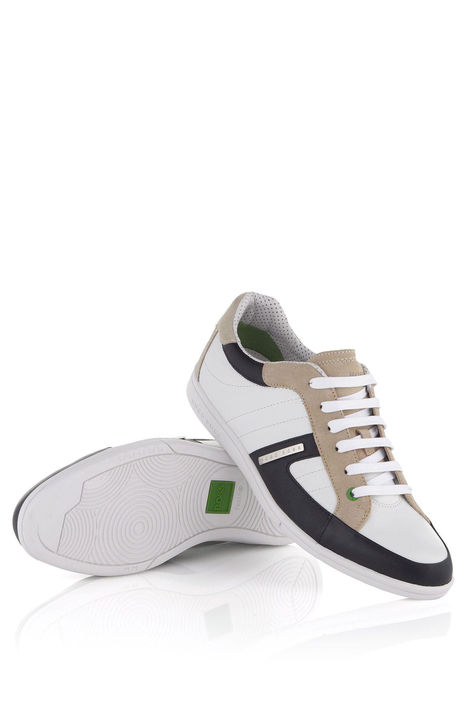 Ledersneaker ´Eldorado Safari` mit Schnürung