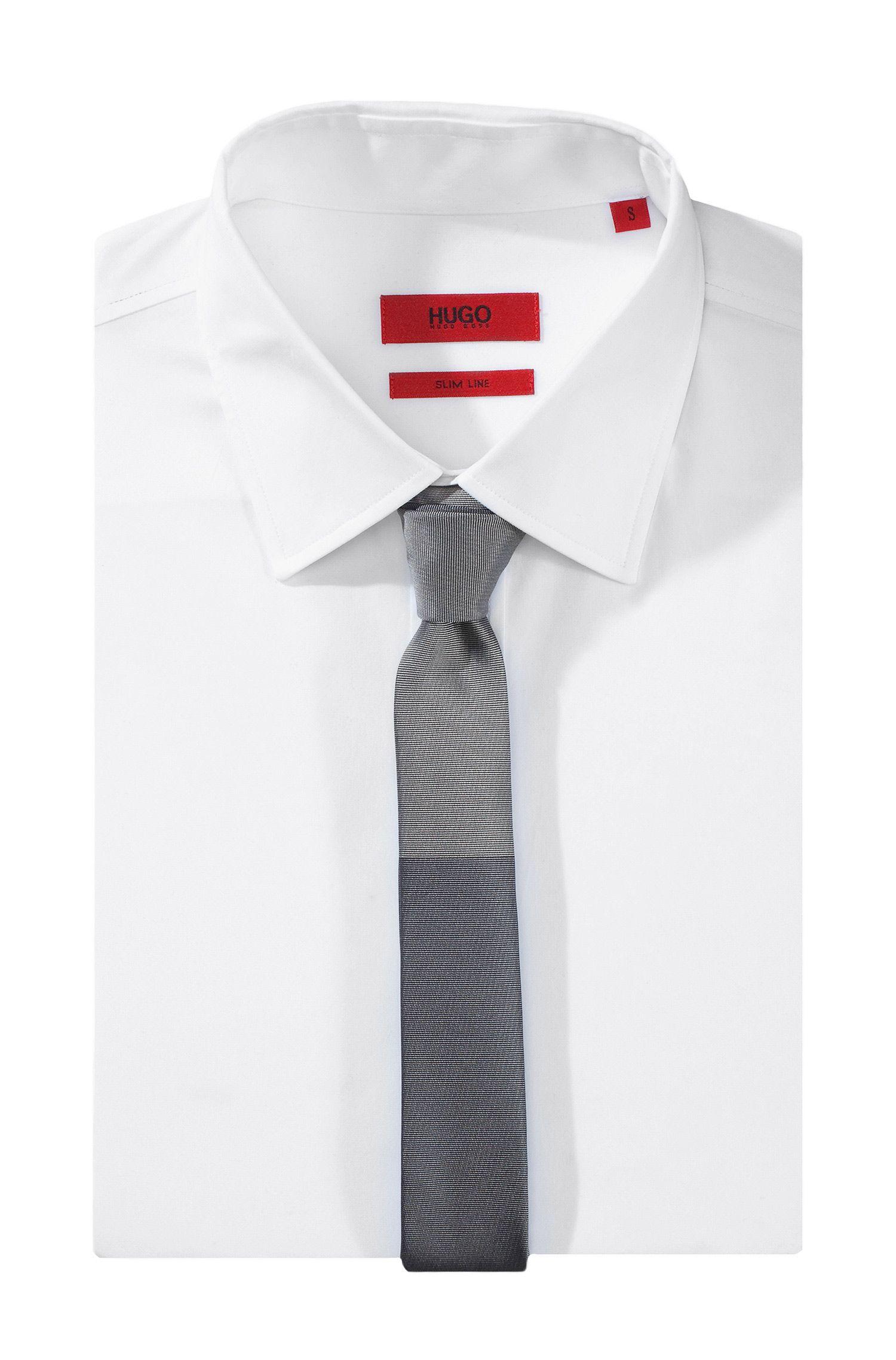 Cravate en soie, Tie 4,5 cm