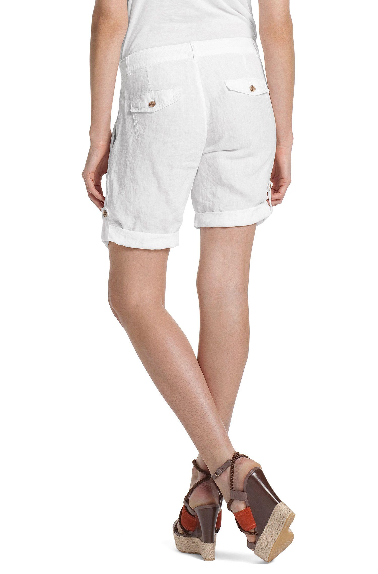 Shorts ´Saskiani-W` aus Leinen