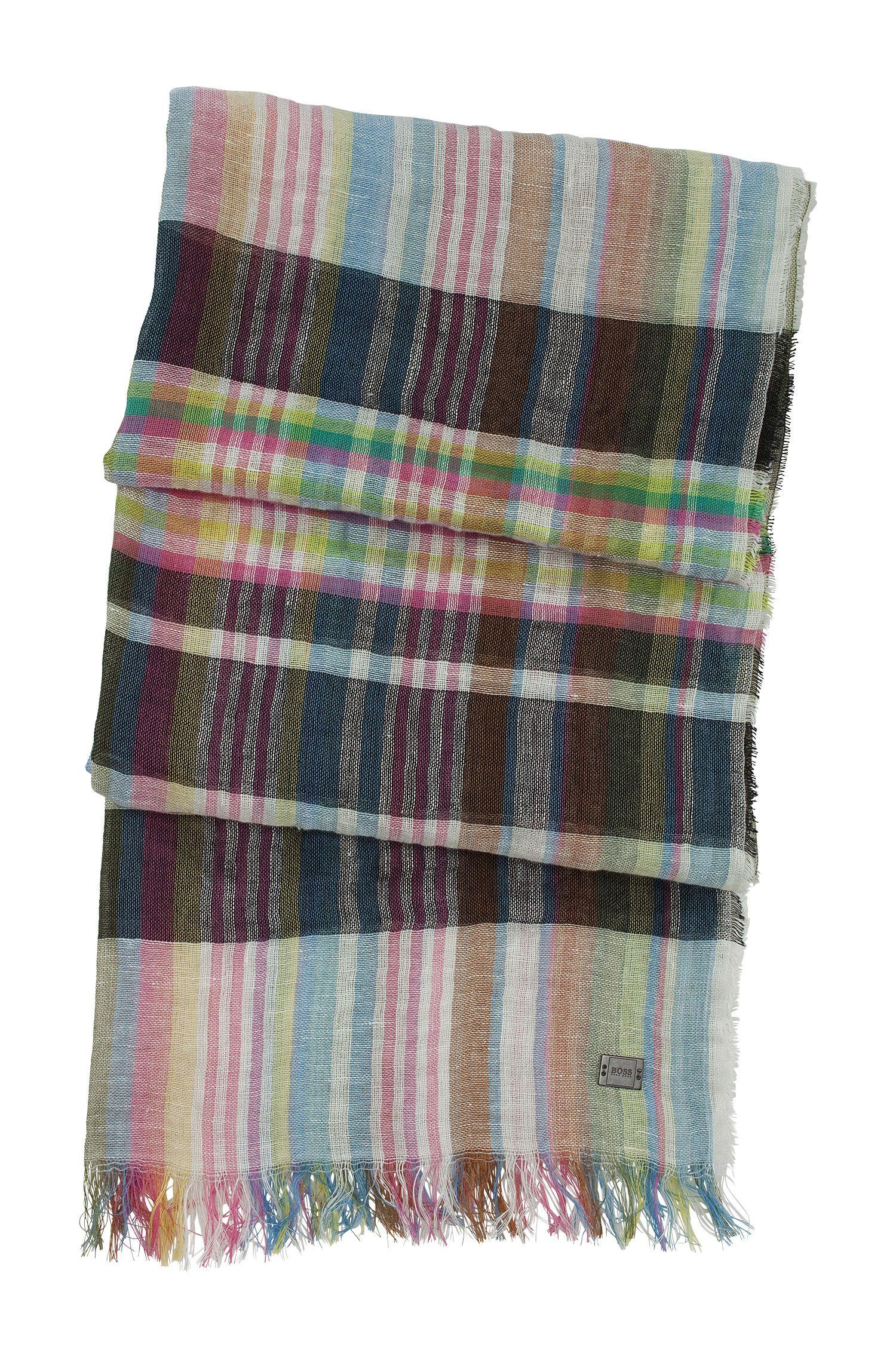 Schal ´Toddi` aus Leinen-Baumwoll Mix