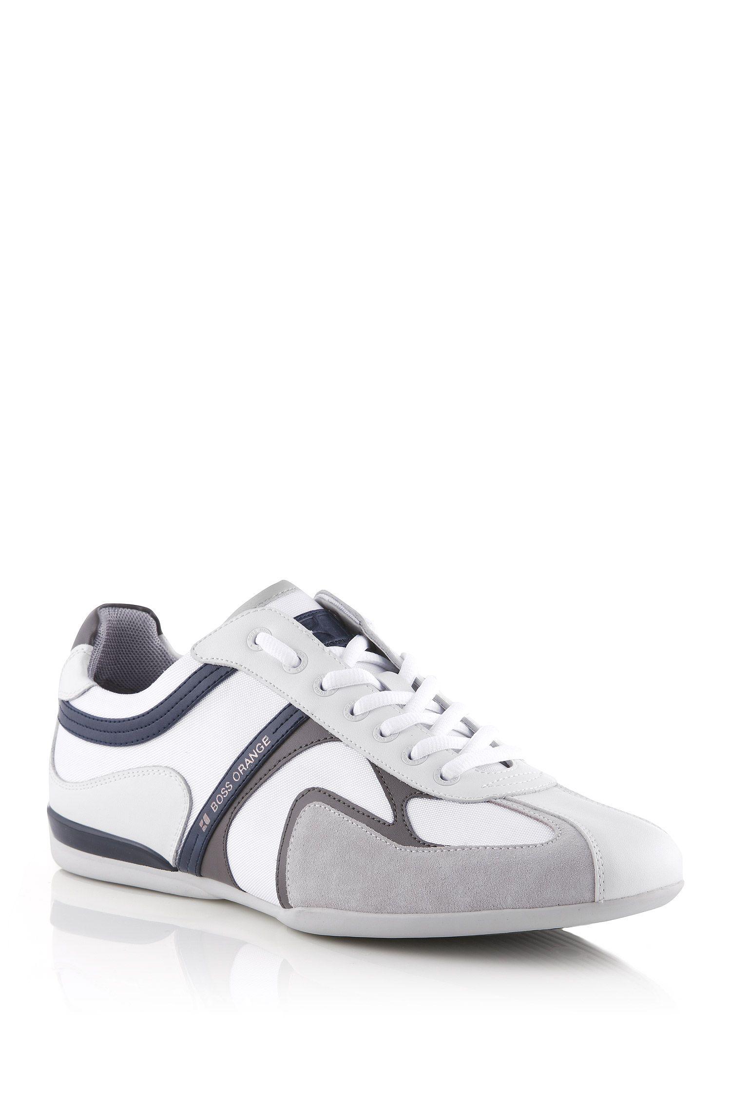 Sneaker ´Seamon` aus Kunstfaser-Mix mit Leder