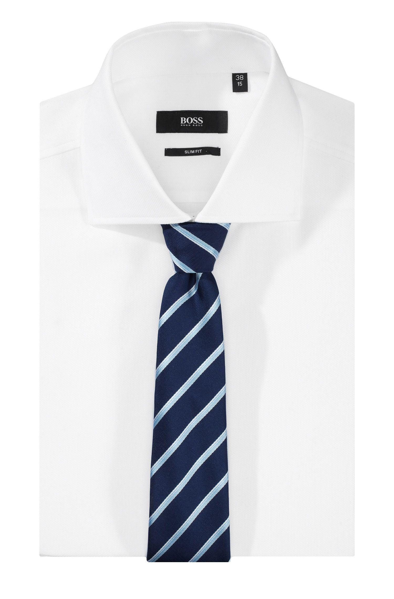 Cravate en pure soie, Tie 7,5 cm