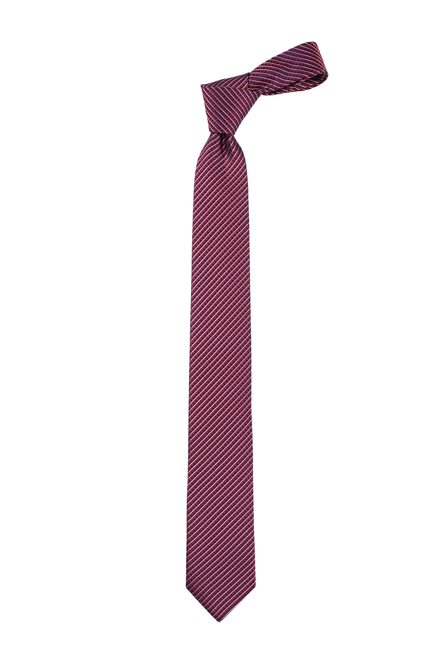 Cravate en pure soie, Tie 6 cm