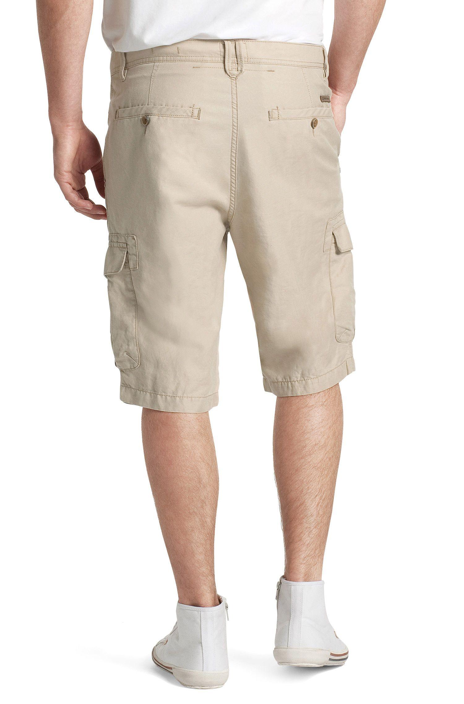 Shorts ´Strake-Shorts-D` aus Leinen-Mix