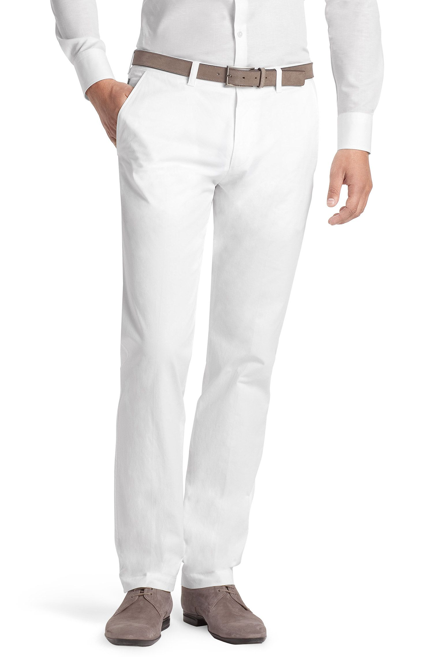Pantalon détente en coton, Shadow4-W