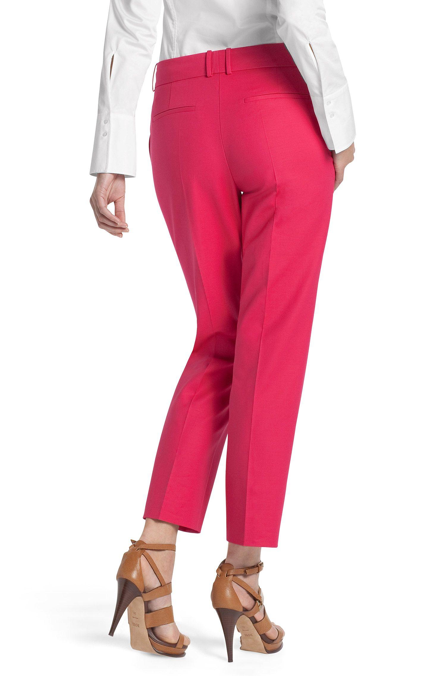 Pantalon en coton mélangé, Nadelle