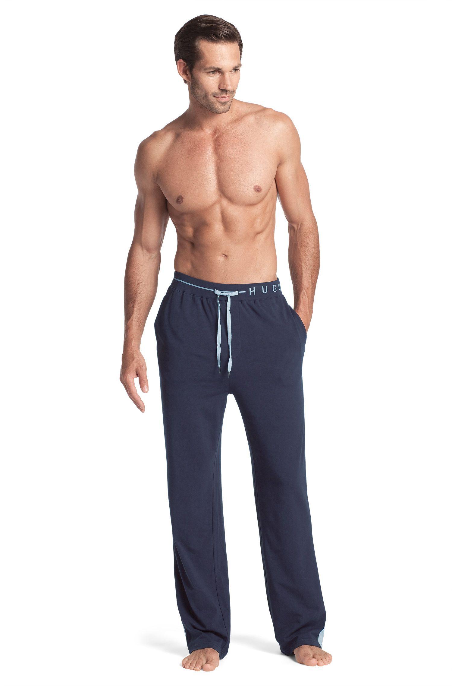 Pantalon détente en coton mélangé, Long Pant CW