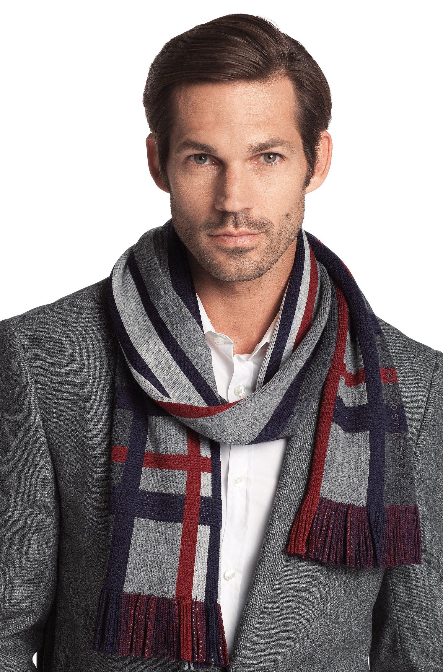 New wool scarf 'Famit'