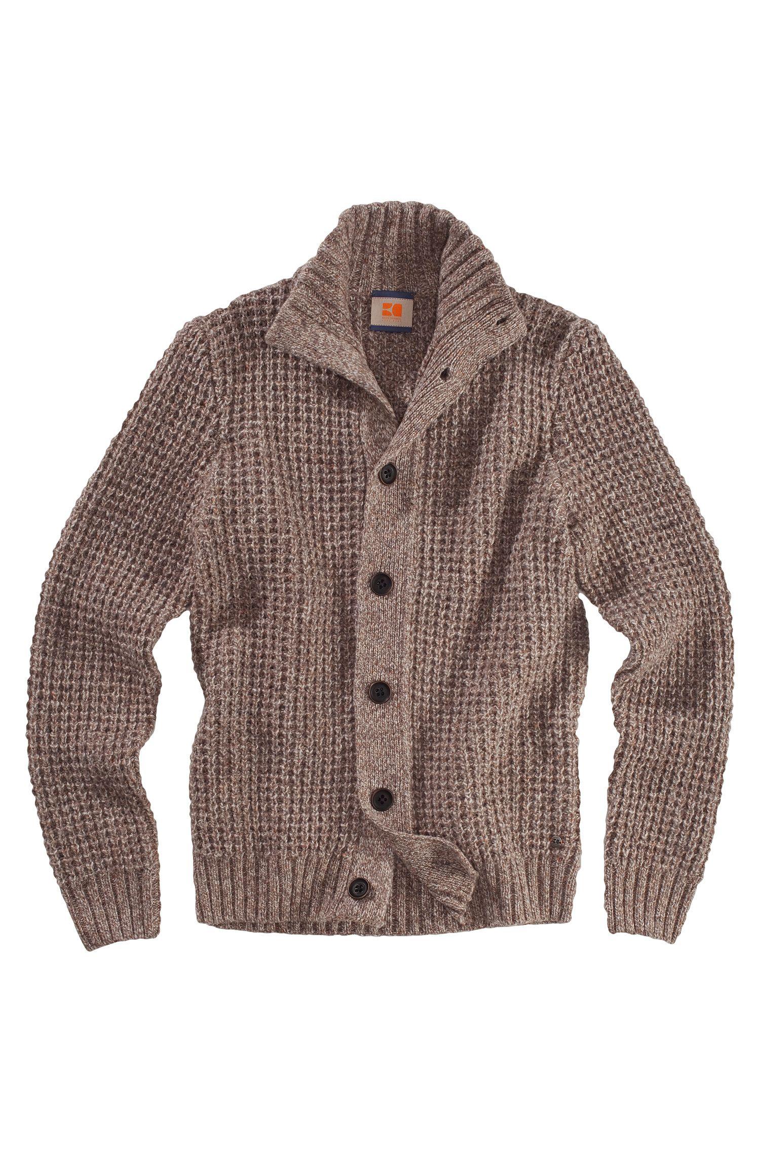 Cardigan en laine vierge mélangée, Aris