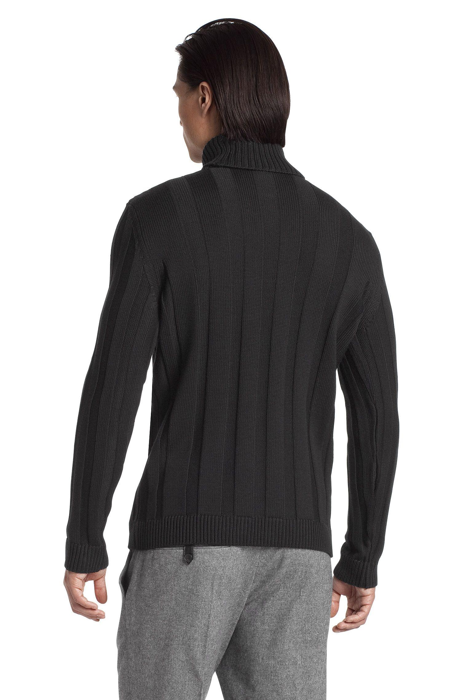 Rollkragen-Pullover ´Swutilon` aus Merinowolle