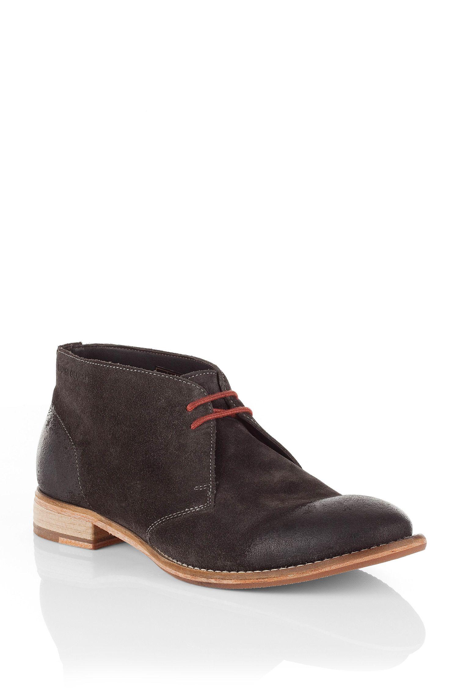 Leren schoenen ´Sailoc` in desert boot-look