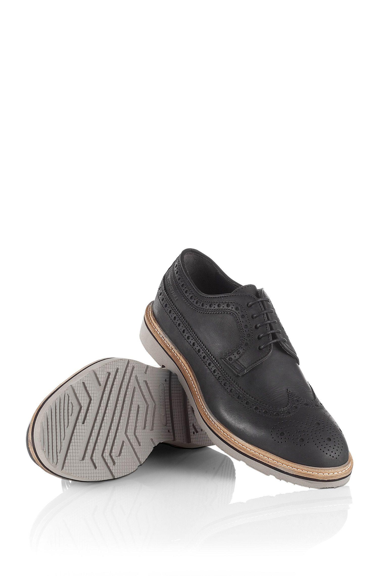 Chaussures basses en cuir de vachette, Bravox
