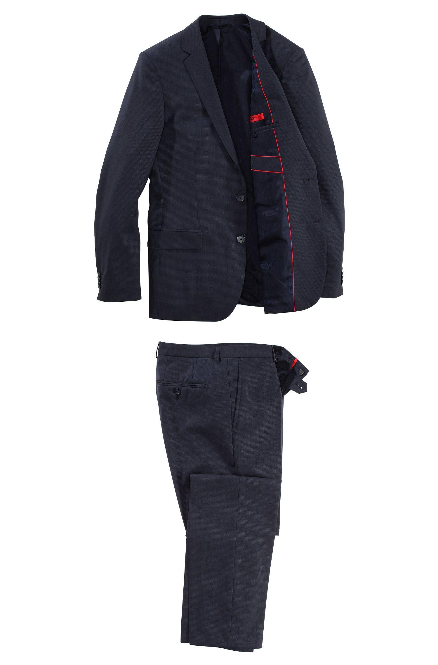 Anzug ´Amaro/Heise` aus Schurwolle