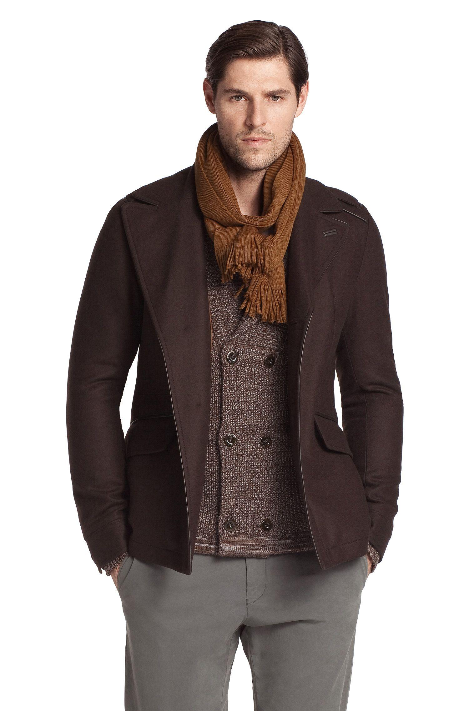 Manteau en laine mélangée, Carom