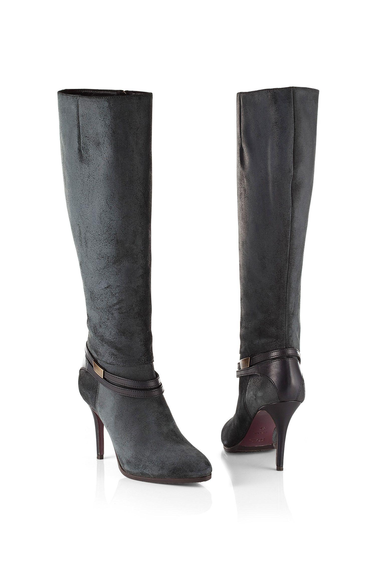Stiefel ´Hariette` aus Leder