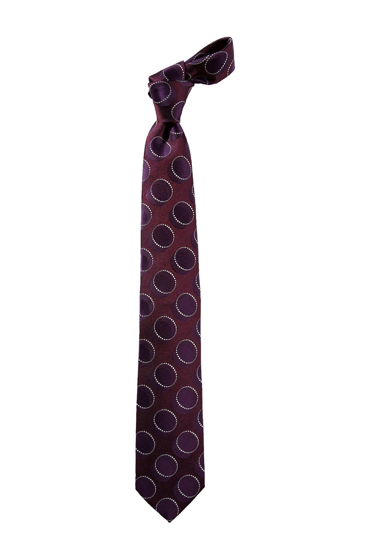 Cravate à motif rétro, Tie 7,5 cm
