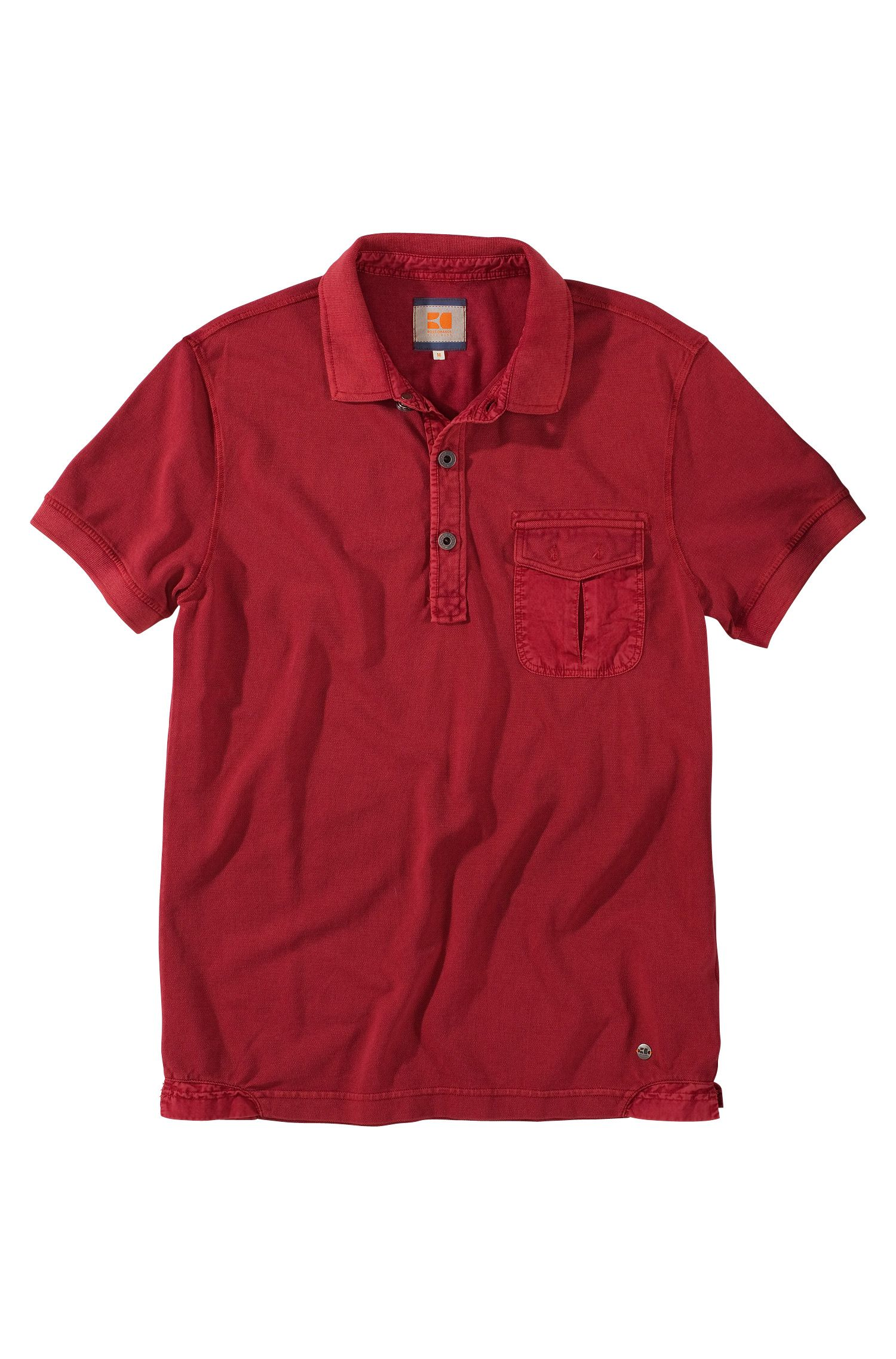 Poloshirt ´Pushkyn` mit Brusttasche