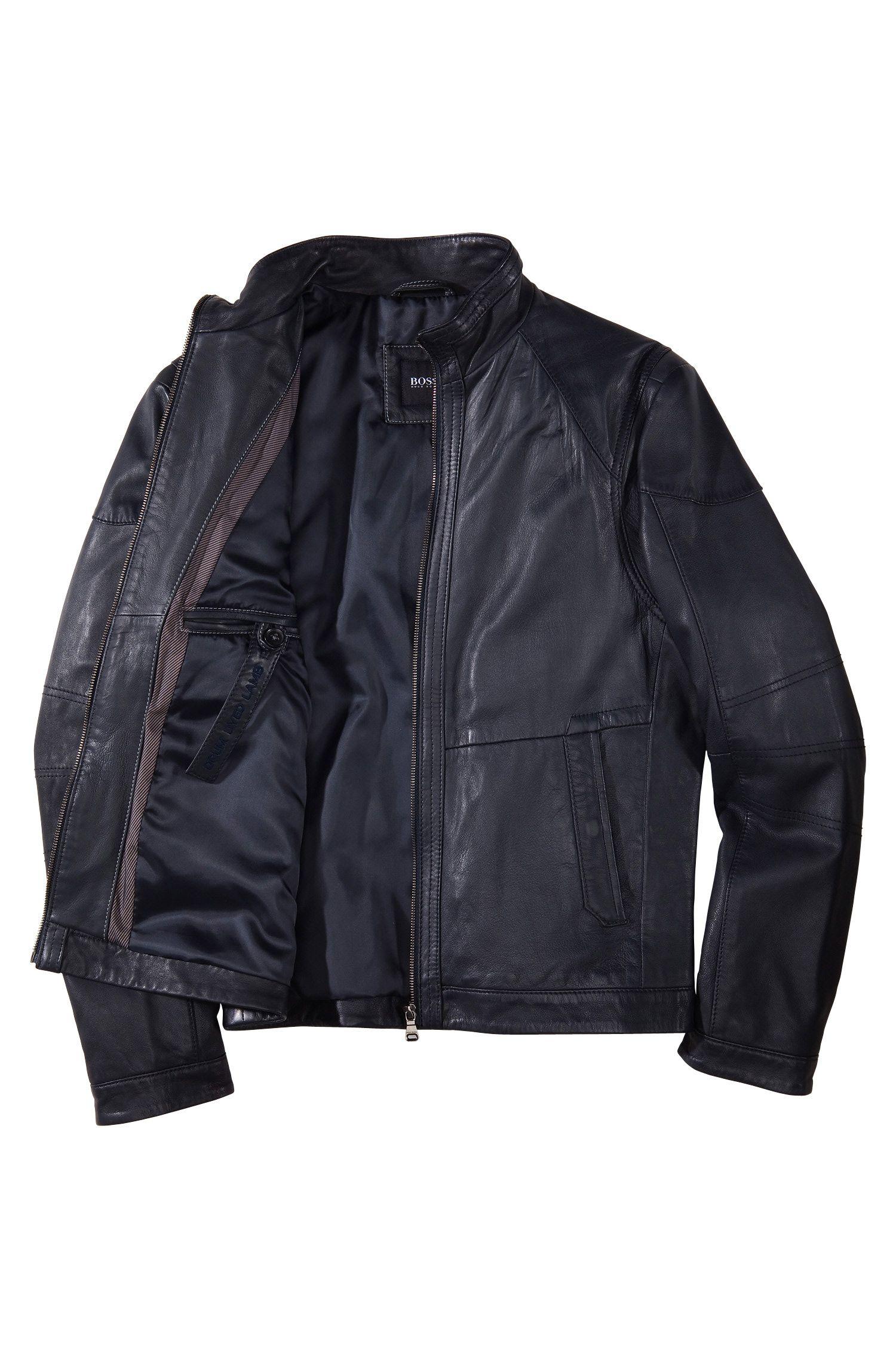 Outdoor-Jacke ´Nikson` aus Lammleder