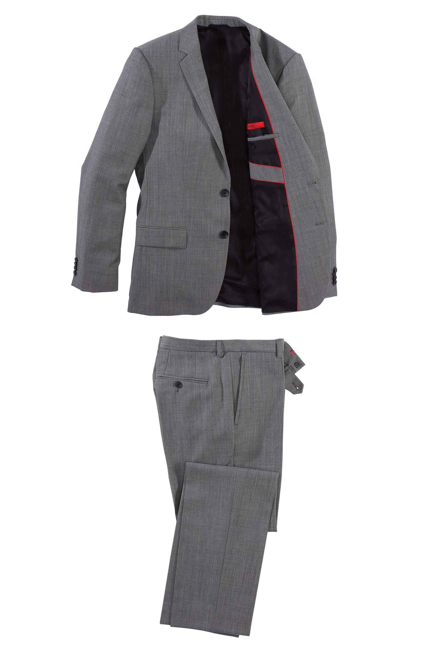 Anzug ´Amaro/Heise` aus Schurwoll-Mix