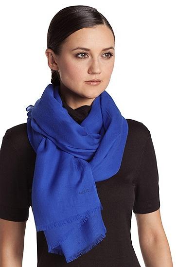 Schal ´Women-Z 394` aus Modal, Blau