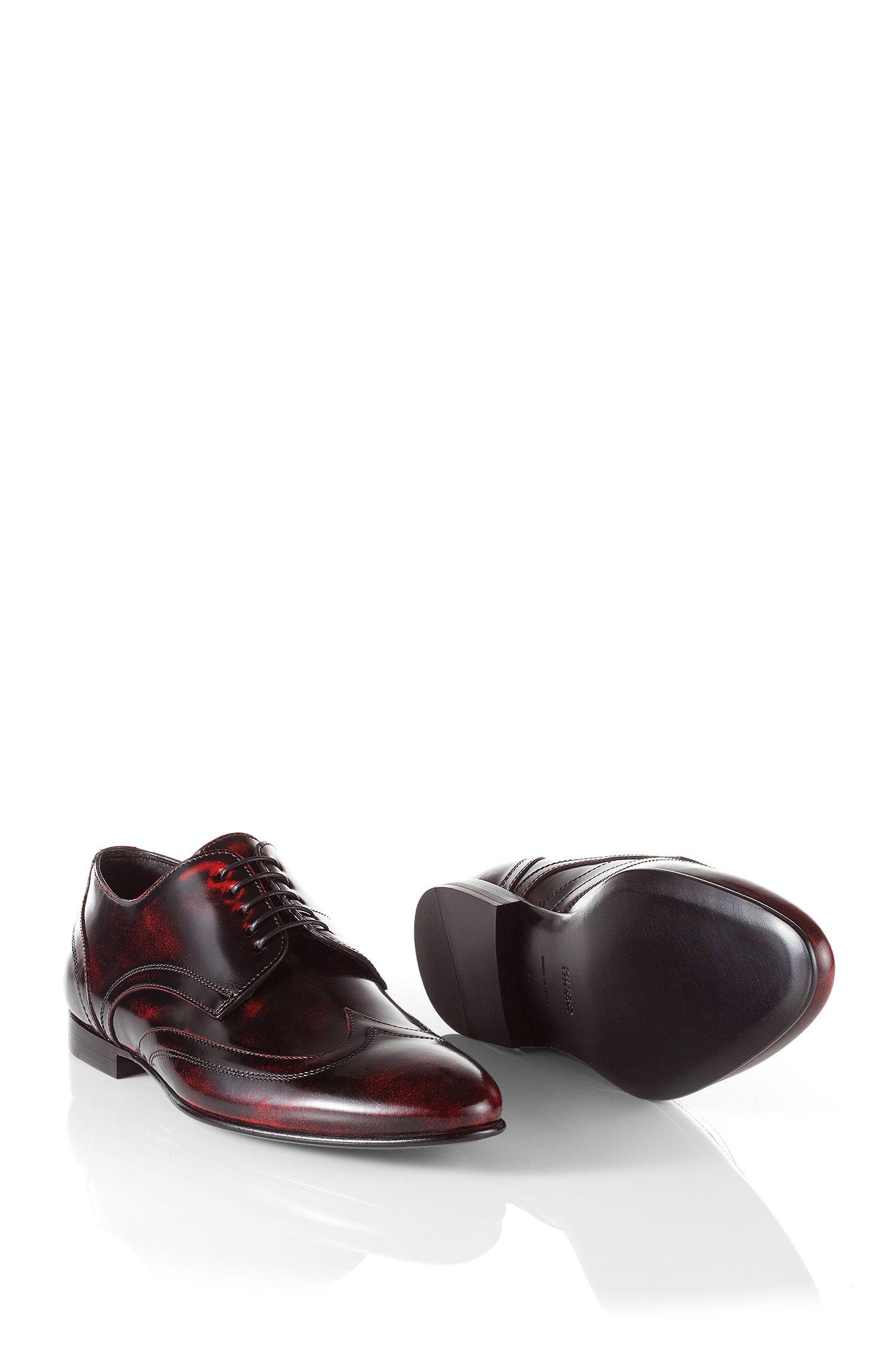 Chaussures Derby en cuir de vachette, Evvior