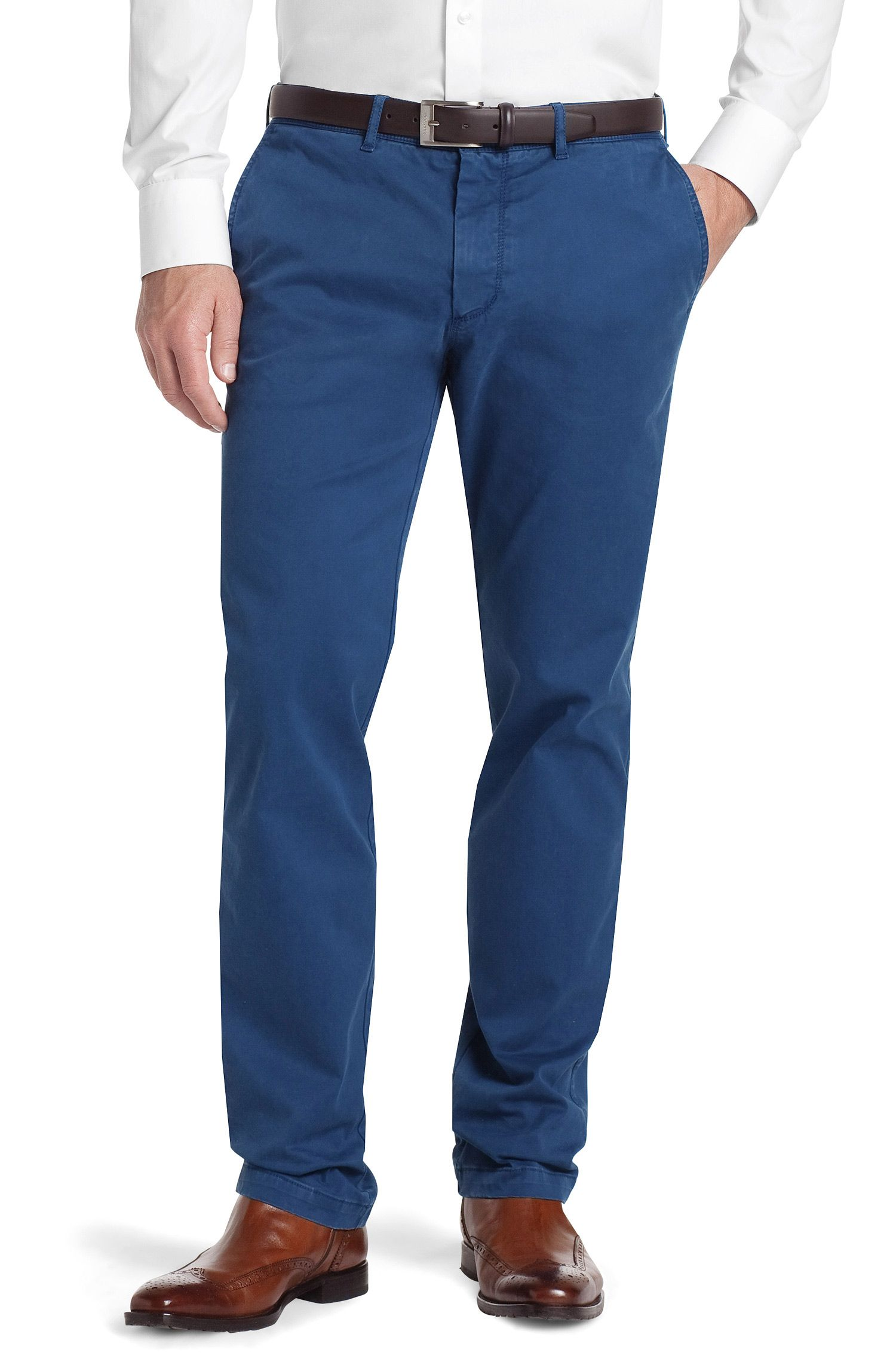 Regular fit trousers 'Crignan2-D'