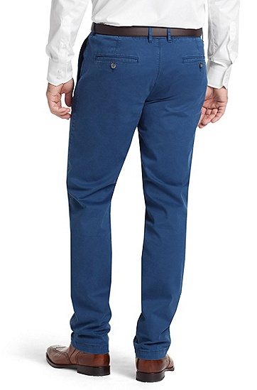 Regular fit broek ´Crignan2-D`, Blauw