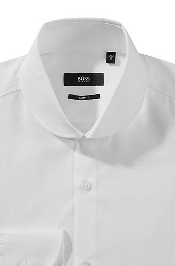 Business-Hemd ´Josh` aus reiner Baumwolle, Weiß