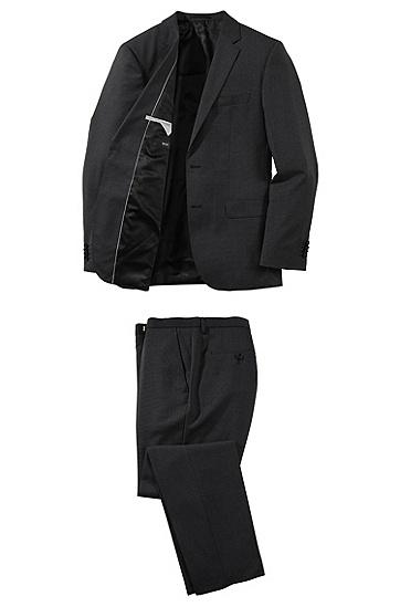 Anzug ´The Sweet4/Sharp5` mit Hahnentritt-Dessin, Schwarz