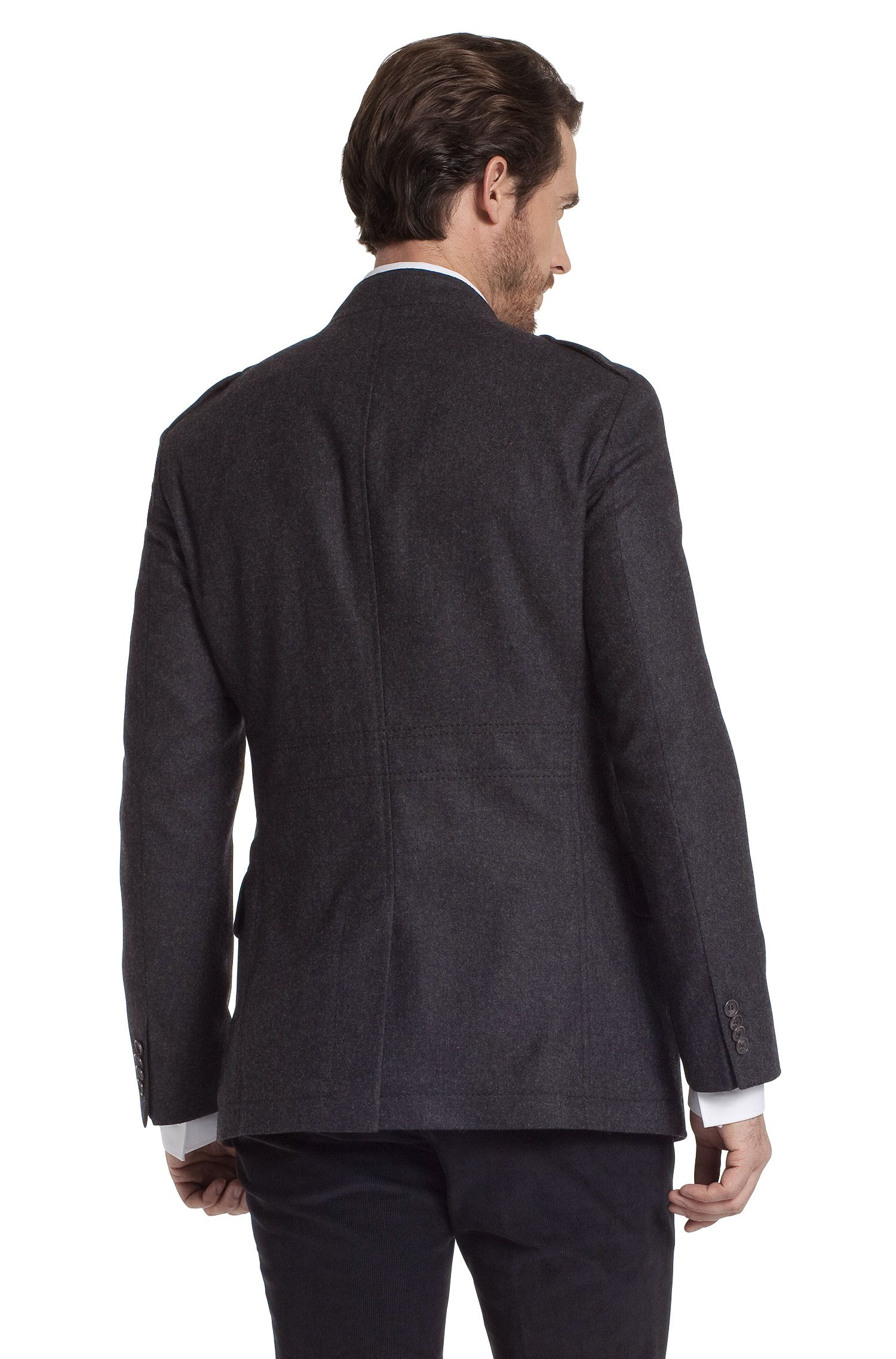 Veste en laine vierge mélangée, Harper1