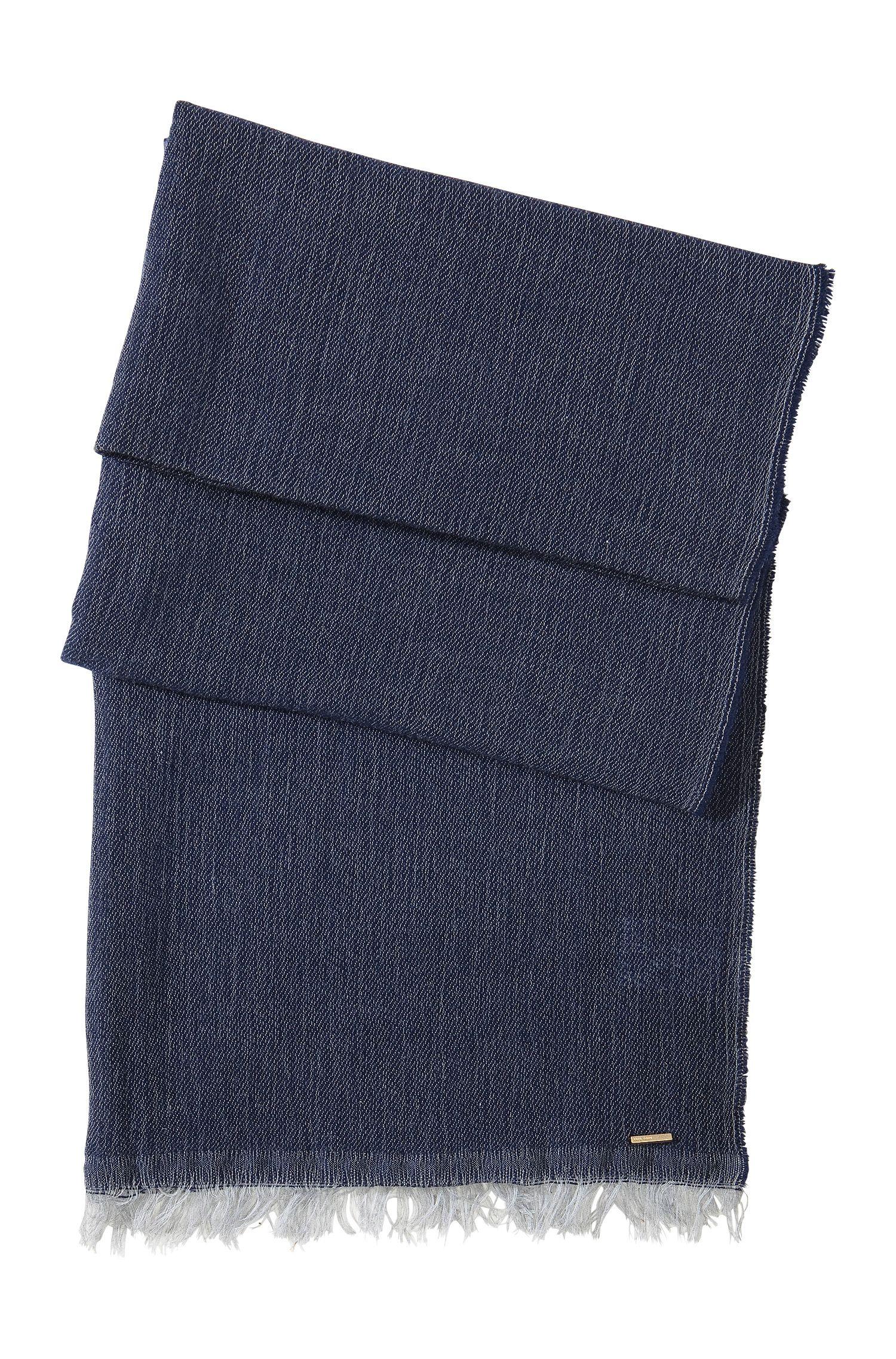 Foulard doux en laine vierge et modal, SC472