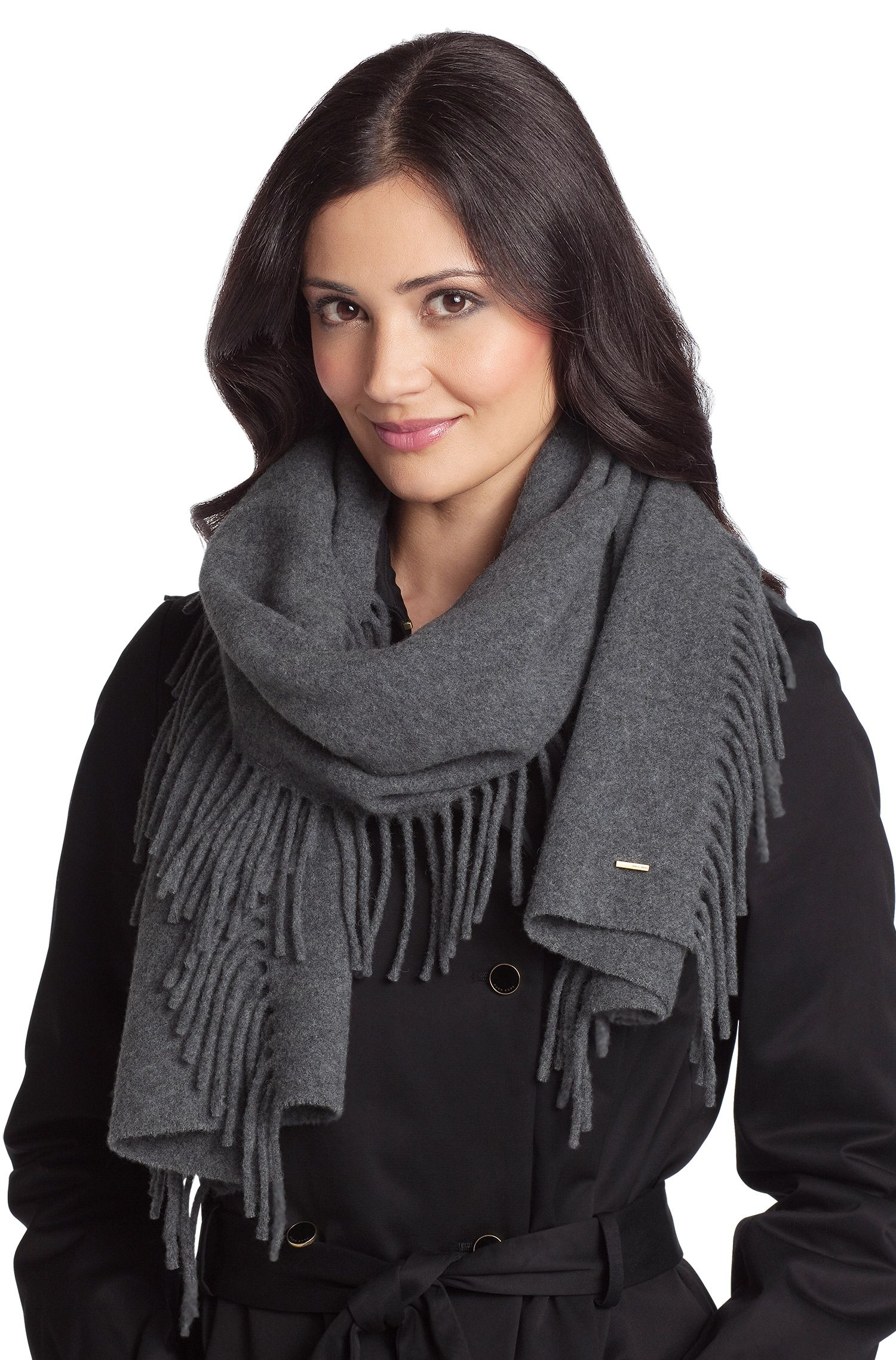 Sjaal ´SC479` van een scheerwolmix