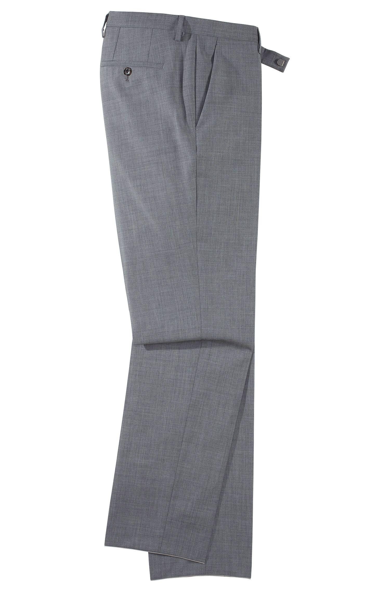 Pantalon en laine vierge et cachemire, Shark3
