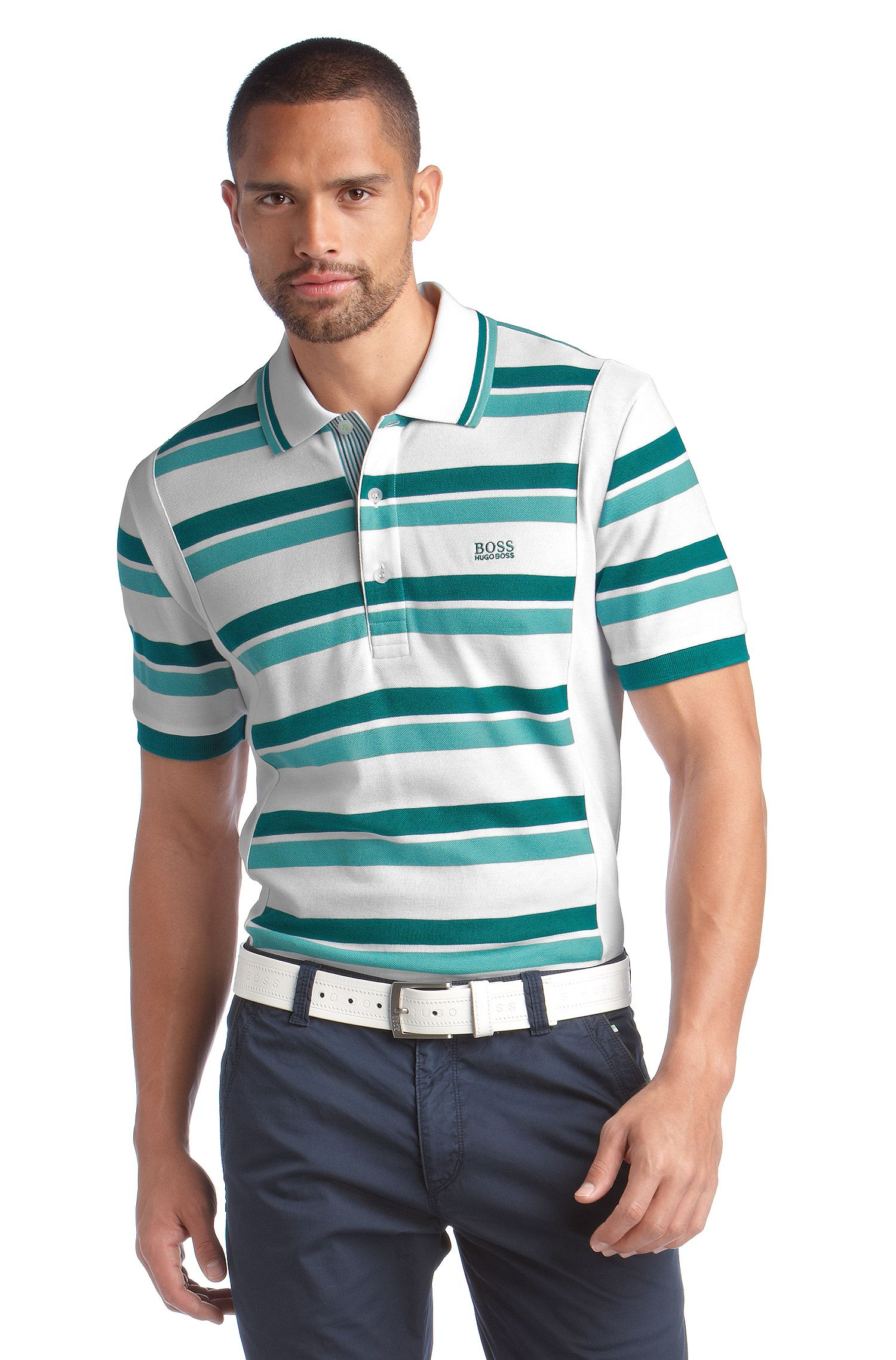 Poloshirt ´Paddy 2` aus luftigem Pikeegewebe