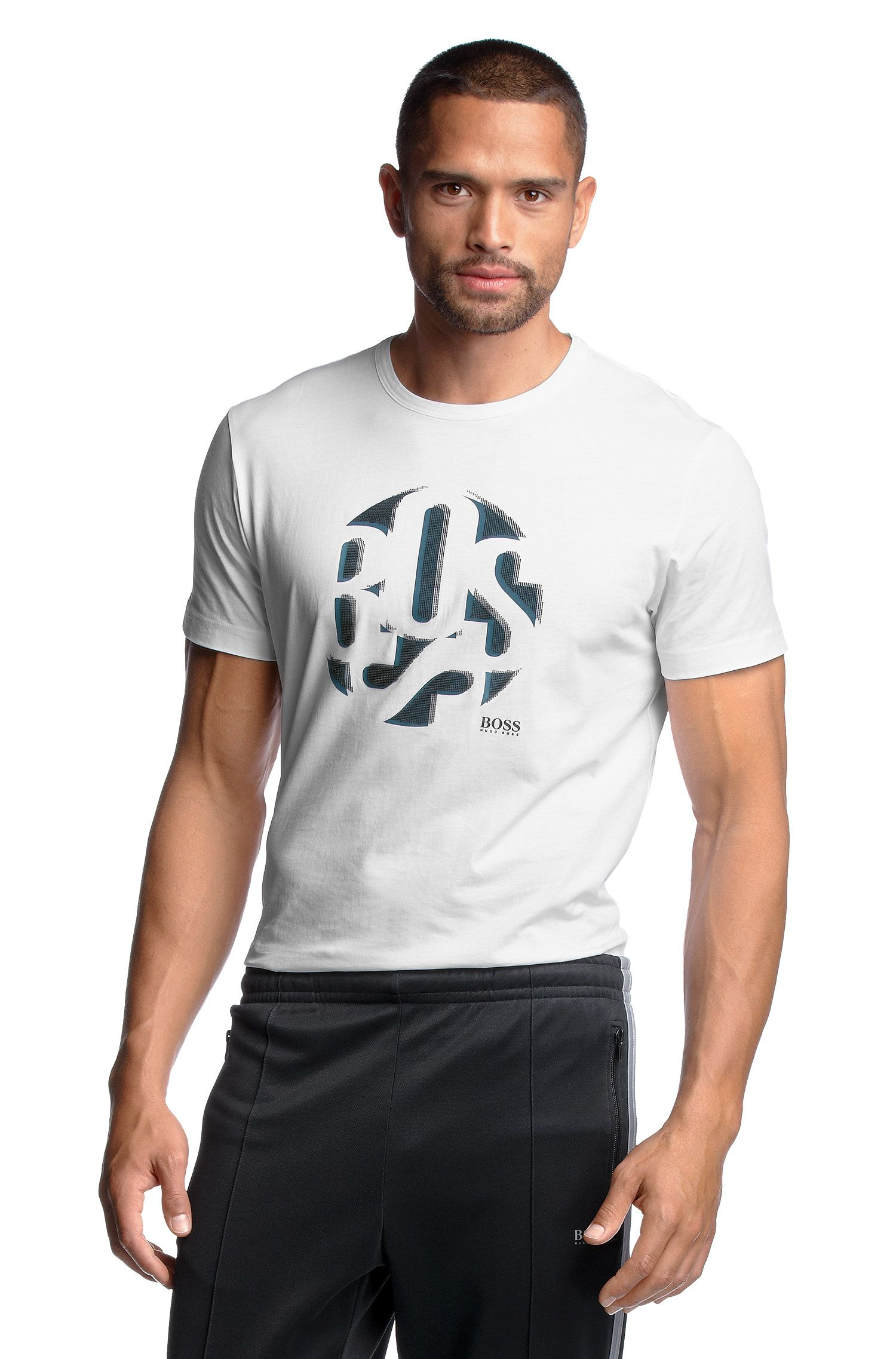 T-Shirt ´Tee 3` van licht katoen