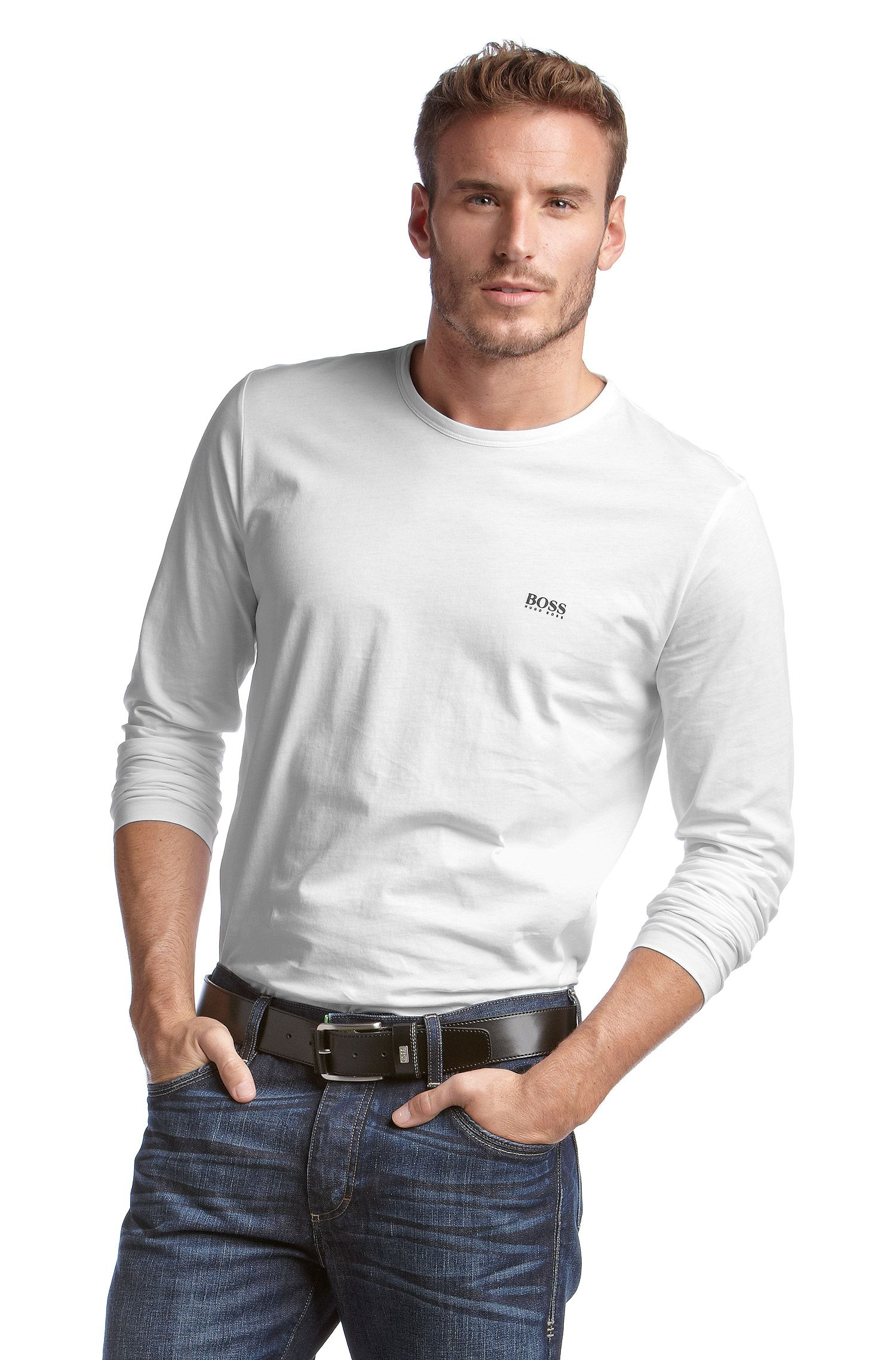 T-shirt manches longues à petits logos, Togn