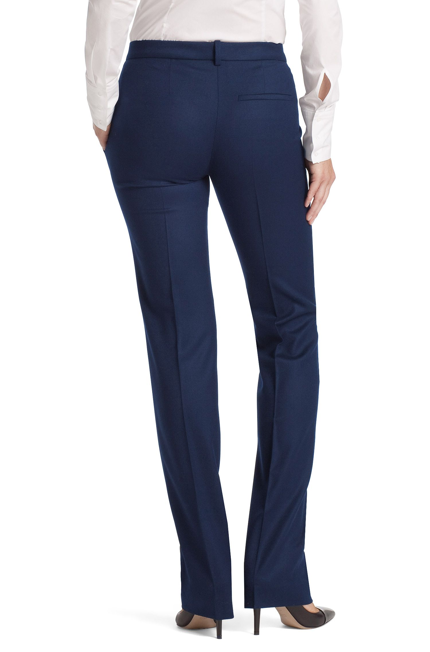 Regular-Fit Hose ´Hinass-5` mit Bügelfalte