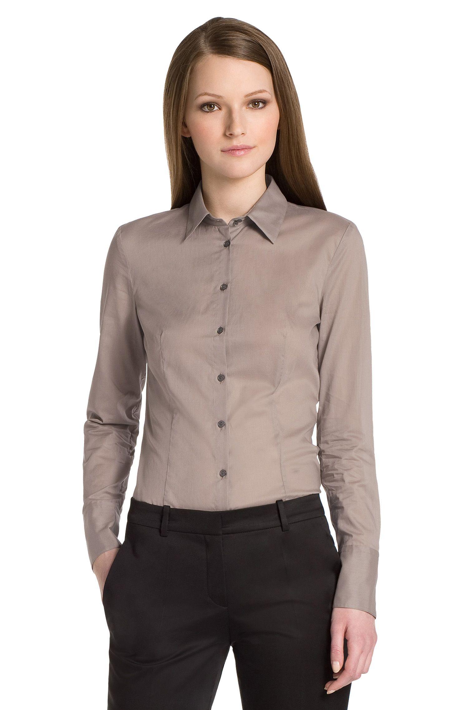 Bluse ´Etrixe1` aus Baumwolle
